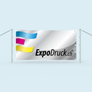 ExpoDruck Banner mit Spannpfosten druck bedruckt