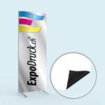 ExpoDruck Display Wand Q-Frame® im Hochformat druck bedruckt detail