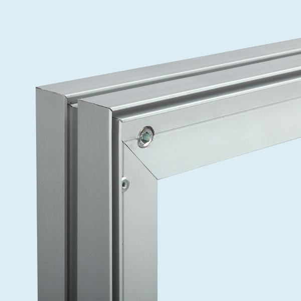 ExpoDruck Display Wand Q-Frame® im Hochformat detail
