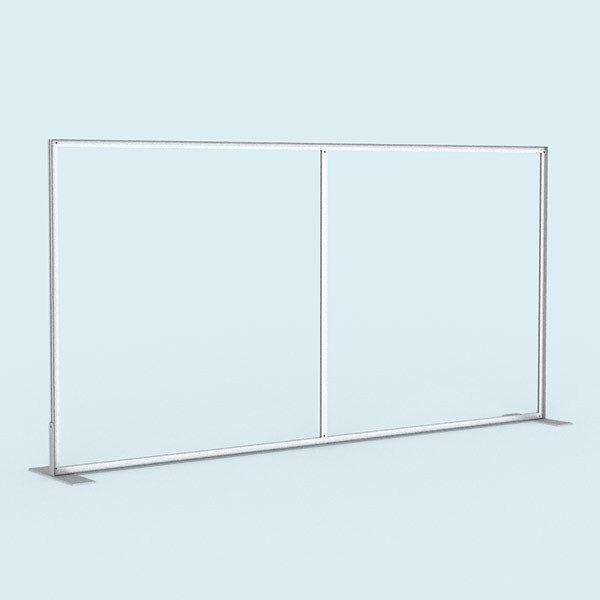 ExpoDruck Display Wand Q-Frame® im Querformat detail