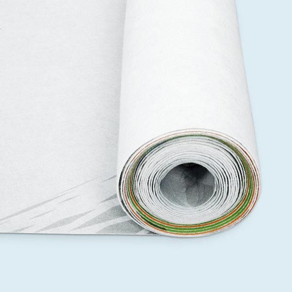 ExpoDruck Banner mit Spannpfosten druck bedruckt detail aufgerollt material
