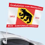 ExpoDruck Autofahne Carflag Druck bedruckt Auto Fahne Autofenster Fahrzeug PKW