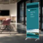ExpoDruck Q Frame Rahmen Druck Textilrahmen Werbung Display Stoff edel Profil Dekoration