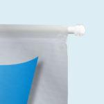 ExpoDruck Kleinfahnen mit Saugnapfhalter detail saugnapf stange halter ende stopper