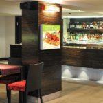 ExpoDruck Leuchtkasten LED quadratisch druck bedruckt restaurant