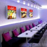 ExpoDruck Leuchtkasten Quadratisch druck bedruck restaurant