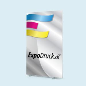 ExpoDruck Q-Frame® DeskTopper druck bedruckt