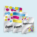 ExpoDruck Q-Frame® DeskTopper druck bedruckt detail grössen