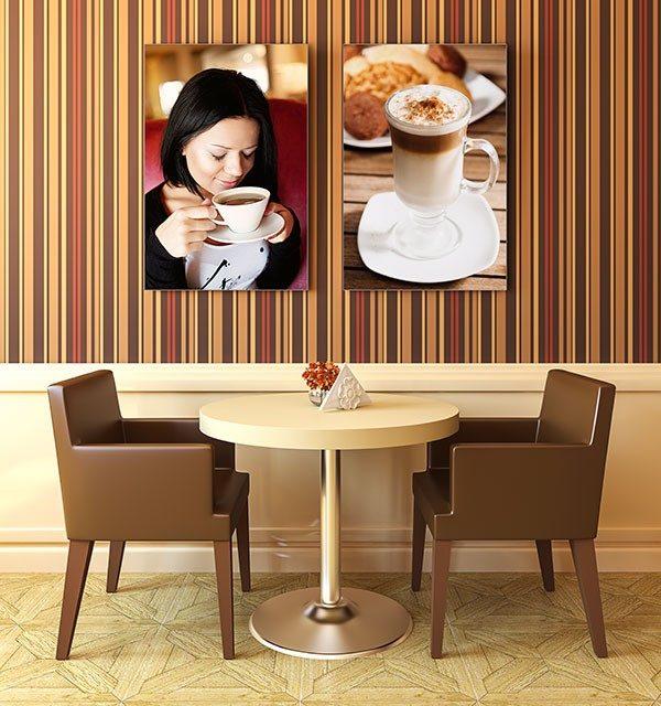 ExpoDruck Spannrahmen 15 mm hoch café