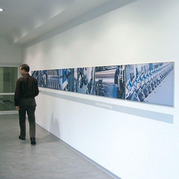 ExpoDruck Spannrahmen 15 mm quer korridor