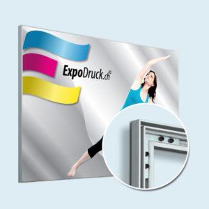 ExpoDruck Spannrahmen 15 mm quer detail