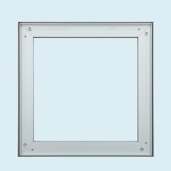 ExpoDruck Spannrahmen 25 mm detail profil aluminium