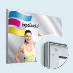 ExpoDruck Spannrahmen 25 mm quer detail