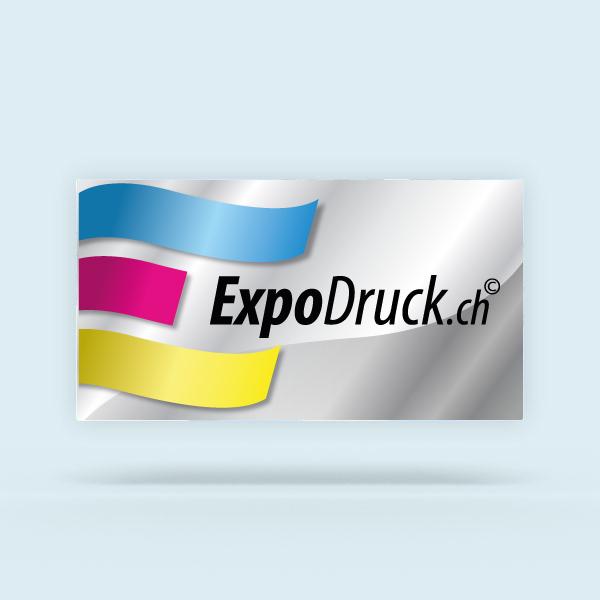 ExpoDruck Stoffhänger XL ringsum geschnitten druck gedruckt