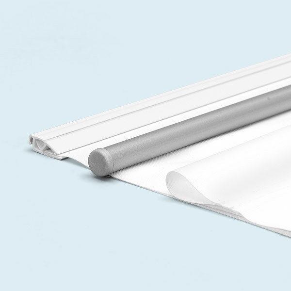 ExpoDruck Stoffhänger bis 3 m² mit Beleistung detail varianten