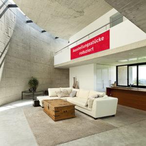 ExpoDruck Stoffhänger bis 8 m² mit Alu-Klemmschiene druck bedruckt