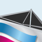 ExpoDruck Triple Display Select druck bedruckt detail