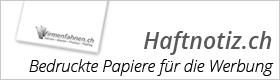 Haftnotiz.ch - Bedruckte Haftnotizen und vieles mehr für Ihre Werbung