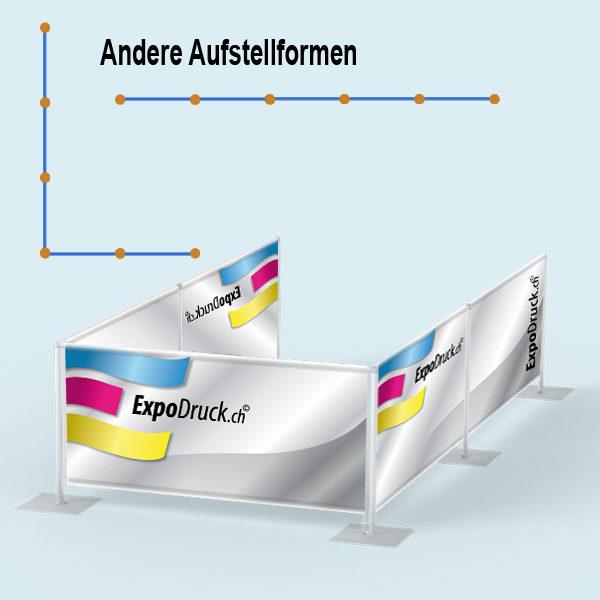 ExpoDruck Absperrsystem 5-fach