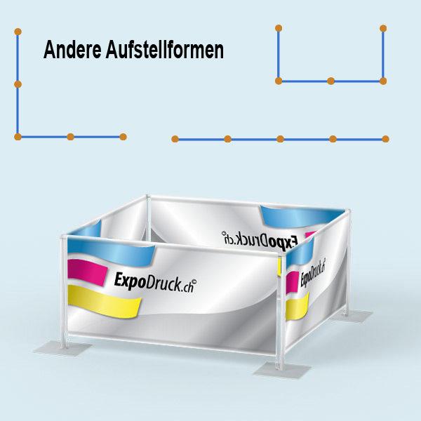 ExpoDruck Absperrsystem 4-fach