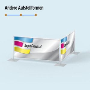 ExpoDruck Absperrsystem 2-fach