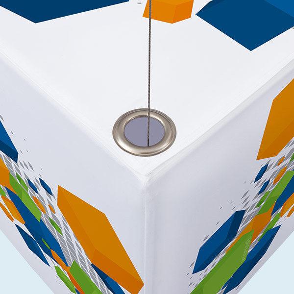 Deckenhänger mit Alu-Kederprofil (rund) 10