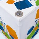 Deckenhänger mit Alu-Kederprofil (rund) 11