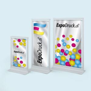 ExpoDruck Display TableTopper druck bedruckt grössen