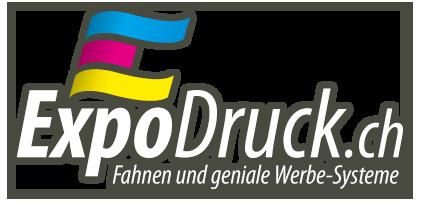 ExpoDruck.ch - Ihr Lieferant von Fahnen und bedruckten Werbetextilien
