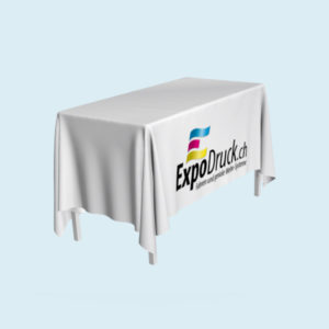 ExpoDruck Tischdecke lang