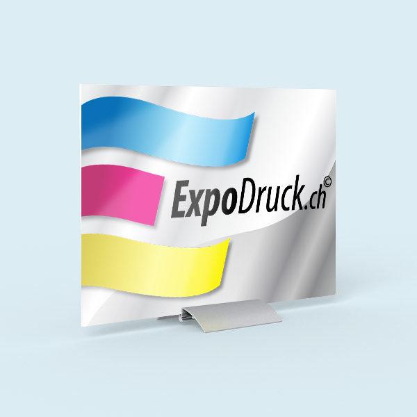 ExpoDruck Klemmständer TableTopper 36 druck bedruckt
