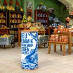 ExpoDruck Lamellen Counter shop geschäft theke druck bedruckt rund