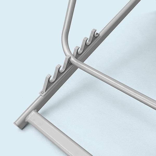 ExpoDruck Liegestühle Detail Stufen verstellbar