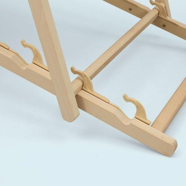 ExpoDruck Liegestühle Detail Stufen verstellbar 2
