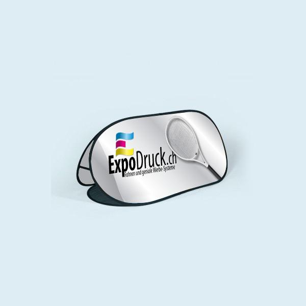 ExpoDruck PopOut Display druck bedruckt