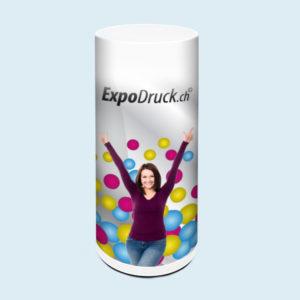 ExpoDruck Promotion Counter Air theke luft druck bedruckt