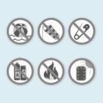 ExpoDruck Promotion Counter Air theke luft verwendung warnung