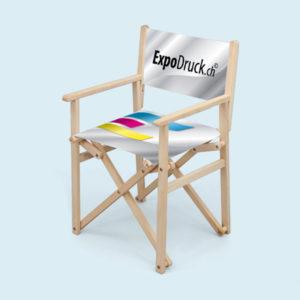 ExpoDruck Regiestuehle