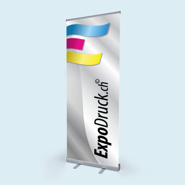 ExpoDruck Roll Up Basic display druck bedruckt