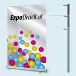 ExpoDruck Roll Up Basic druck bedruckt grössen