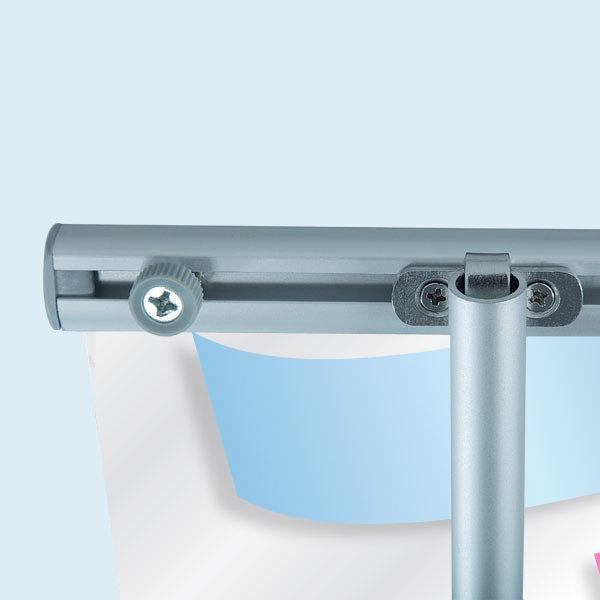 ExpoDruck Roll Up Basic druck bedruckt detail system halterung gestänge verschraubung