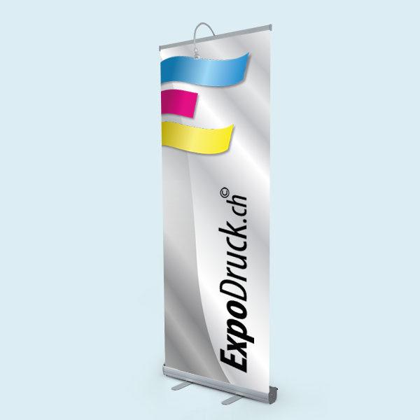 ExpoDruck Roll Up Basic display druck bedruckt licht lampe beleuchtung