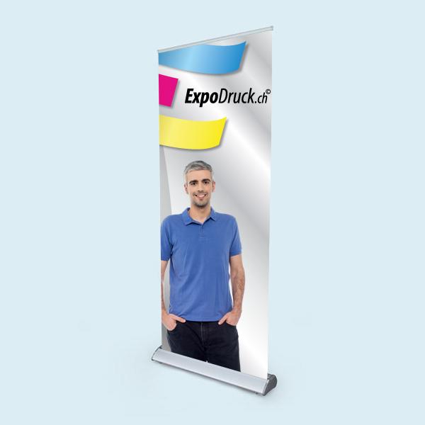 ExpoDruck Roll Up Select druck bedruckt