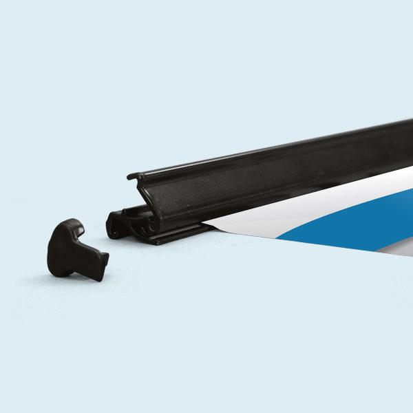 ExpoDruck Roll Up Select druck bedruckt detail system fuss