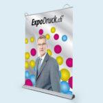 ExpoDruck Roll Up Select druck bedruckt beleuchtet beleuchtung lampe licht