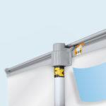 ExpoDruck Roll Up Select druck bedruckt detail system