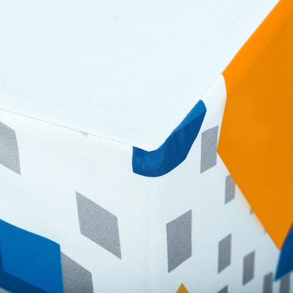 ExpoDruck Sitzwürfel Verarbeitung Naht