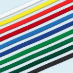 ExpoDruck Tischtuch Einfassband farbig verschiedene farben wählbar