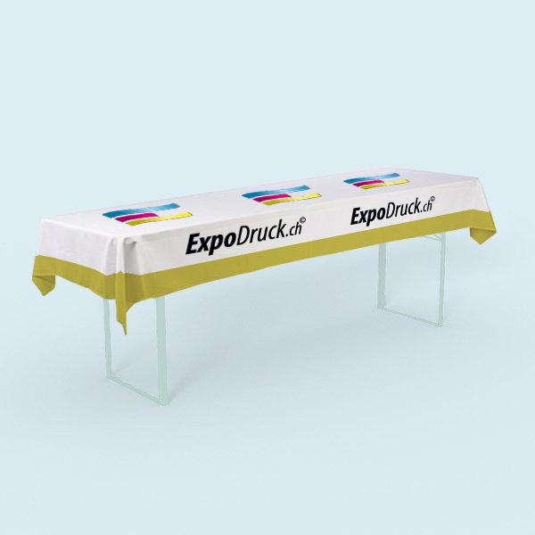 ExpoDruck tischdecke festtisch lang