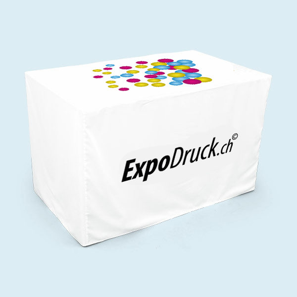 ExpoDruck Tischhusse bedruckt druck